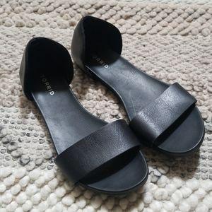 Black Torrid Sandal Flats